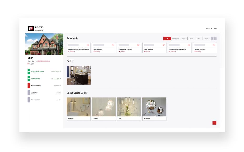 PACE Developments Homeowner Portal